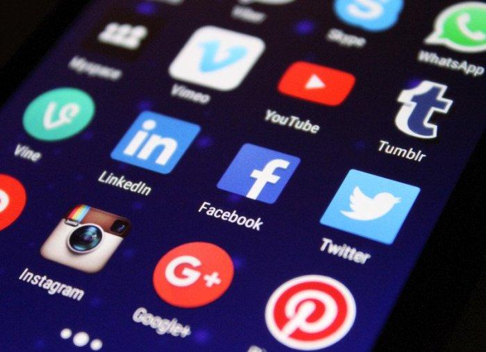 Applications sur un écran de cellulaire