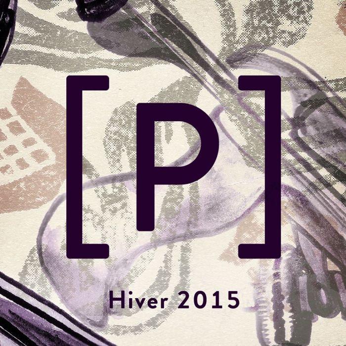 Logo de la revue littéraire Le Pied, numéro de l'hiver 2015