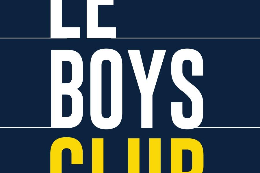 Couverture du Boys club de Martine Delvaux